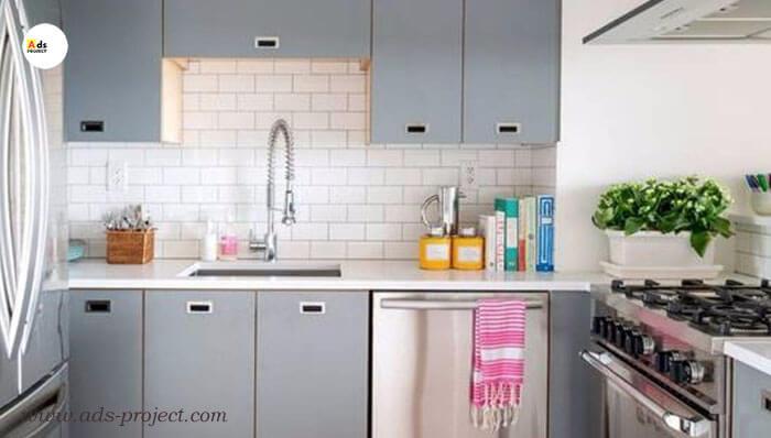 Layout kitchen set dapur minimalis