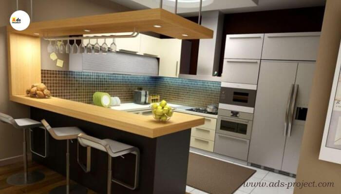 Perlengkapan kitchen set minimalis